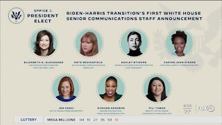 Biden selects all female communications team