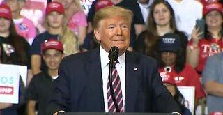 President Trump hosts 'Keep America Great' rally in Las Vegas