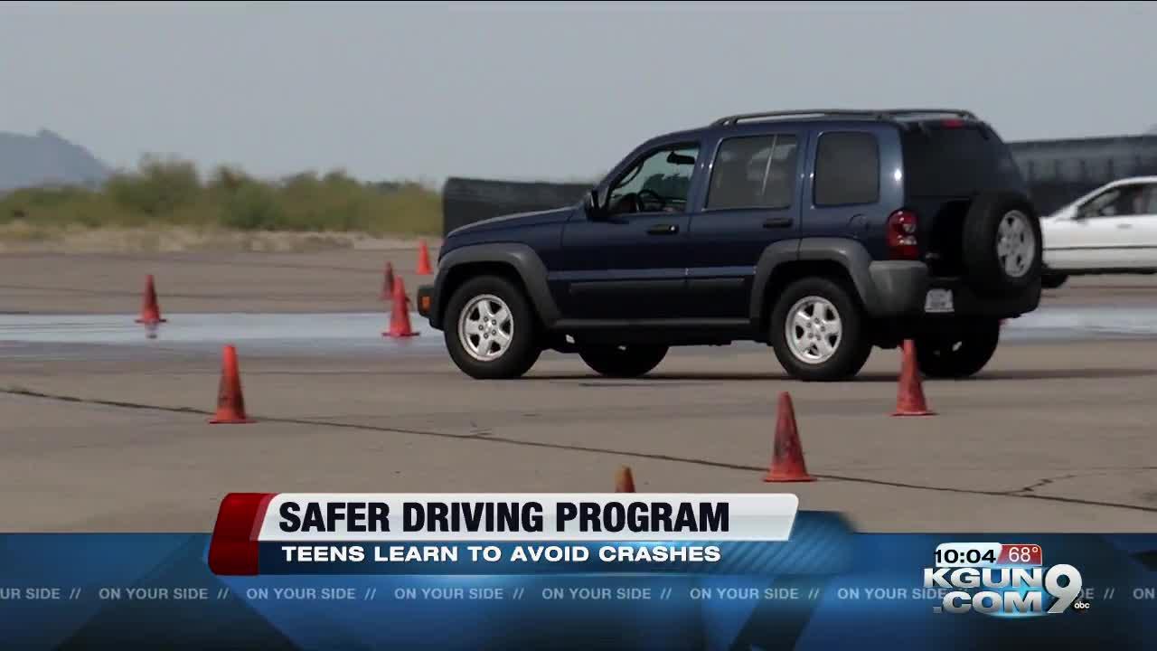 Arizona students get opportunity to improve driving skills through Tire Rack Street Survival program