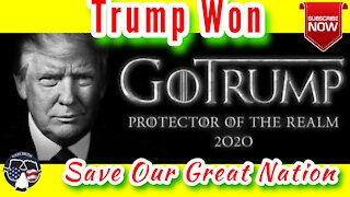 Trump Won & We Have to Save Our Republic