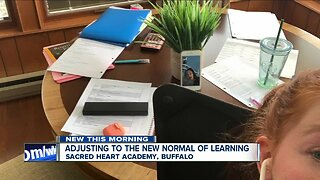 Buffalo's Sacred Heart Academy adjusting to new normal of learning
