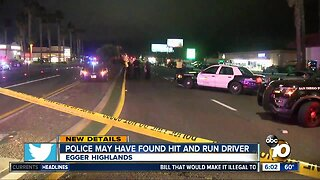 Driver possibly involved in hit-and-run contacts police
