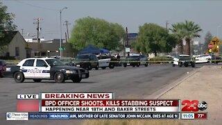BPD officer shoots, kills stabbing suspect