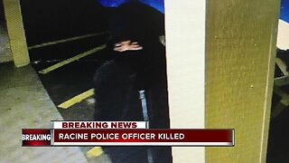 Manhunt underway for suspect who killed off duty Racine PD Officer