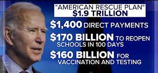 Biden's COVID-19 relief plan includes $1400 stimulus checks