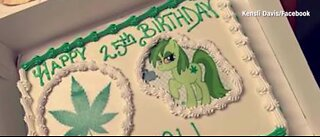 Dairy Queen makes a marijuana birthday cake
