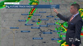 Storms Tuesday