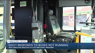 No DDOT bus service Friday after driver work stoppage over labor dispute