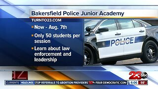 Bakersfield Police Department to hold Junior Academy