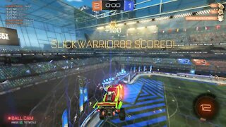 Rocket League Gaming Last Minute Comeback