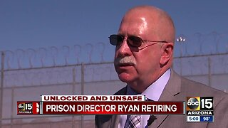 Arizona Department of Corrections Director Charles Ryan retiring