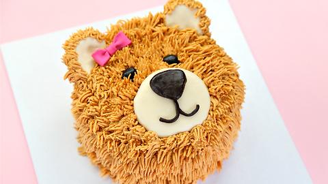 The cutest teddy bear cake on Earth