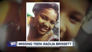 Detroit Police seek information on missing teen Radija Brissett