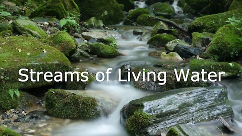 Message for Pentecost, May 23, 2021 Streams of Living Water: John 7:37-39a