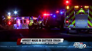 Driver involved in double-fatal crash arrested