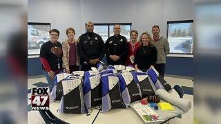 Jackson Police Department receives sensory backpacks
