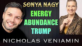 Sonya Nagy Discusses Energy, Abundance and Trump with Nicholas Veniamin
