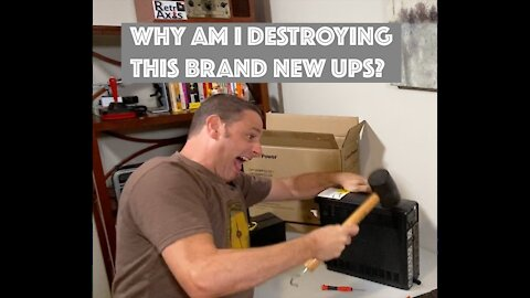 Why did I just destroy a new Battery Backup?