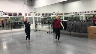 Sharing the love of dance through donation