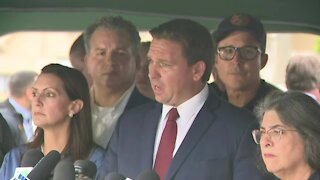 PRESS CONFERENCE: Gov. DeSantis gives update on deadly condo collapse in Surfside