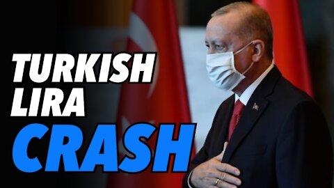 Erdogan's reckless Erdonomics policy is driving Turkish Lira over a cliff