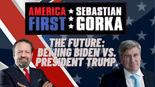 The future: Beijing Biden vs. President Trump. Stephen Moore with Sebastian Gorka on AMERICA First