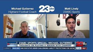 Head coach Michael Gutierrez talks about a revised season