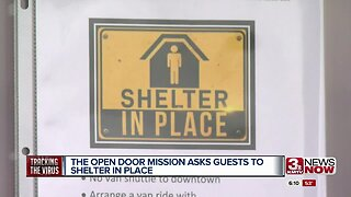 Open Door Mission asks guests to shelter in place