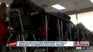Omaha educators react to request for school police removal