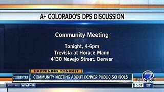 Community meeting about Denver Public Schools