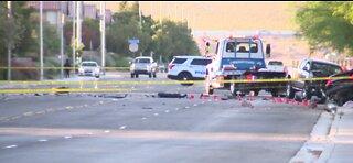 North Las Vegas PD: 1 dead, 2 injured in high-speed crash