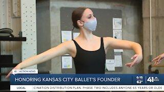 Honoring Kansas City Ballet's founder