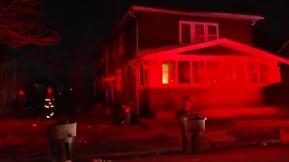 Arsonist torches home and people escape fire on Detroit's west side