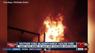 Mother killed in northwest Bakersfield house fire