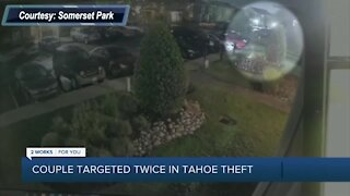 Green Country couple targeted twice in vehicle theft