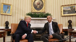 President Obama Met With President Trump 4 Years Ago Today