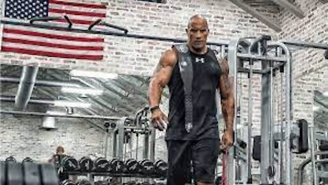 THE ROCK GYM WORKOUT NO EXCUSES