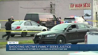 Shooting victim's family seeks justice