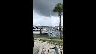 Apollo Beach, FL Waterspout