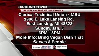 Around Town - Greater Lansing Vegan Potluck - 1/1/20
