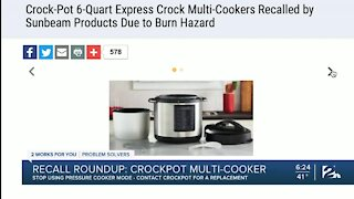PS Recall Roundup: Pressure cookers, specialty helmets under recall