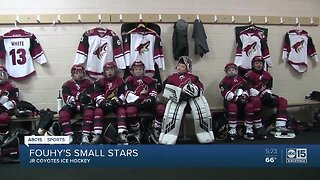 Fouhy's Small Stars: Junior Coyotes hit the ice