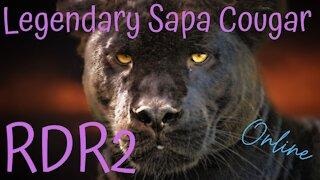 Red Dead Redemption 2(RDR2) ~ Online Legendary Sapa Cougar #RDR2