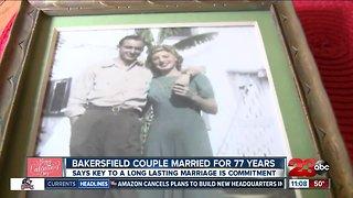Bakersfield couple celebrates 77th wedding anniversary