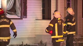 2 residents and 2 firefighters injured after Brunswick house fire on Miner Road