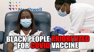 Democrat States Prioritize Black/Hispanics for Covid Vaccine