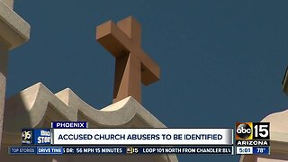 Accused church abusers to be identified Wednesday