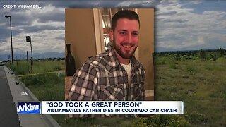 Williamsville father dies in Colorado car crash