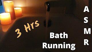 Running Bath Water | 3 Hrs ~ ASMR ~