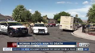 Woman fatally shoots man at home near Sandhill, Harmon
